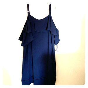 Maggie London Blue Dress